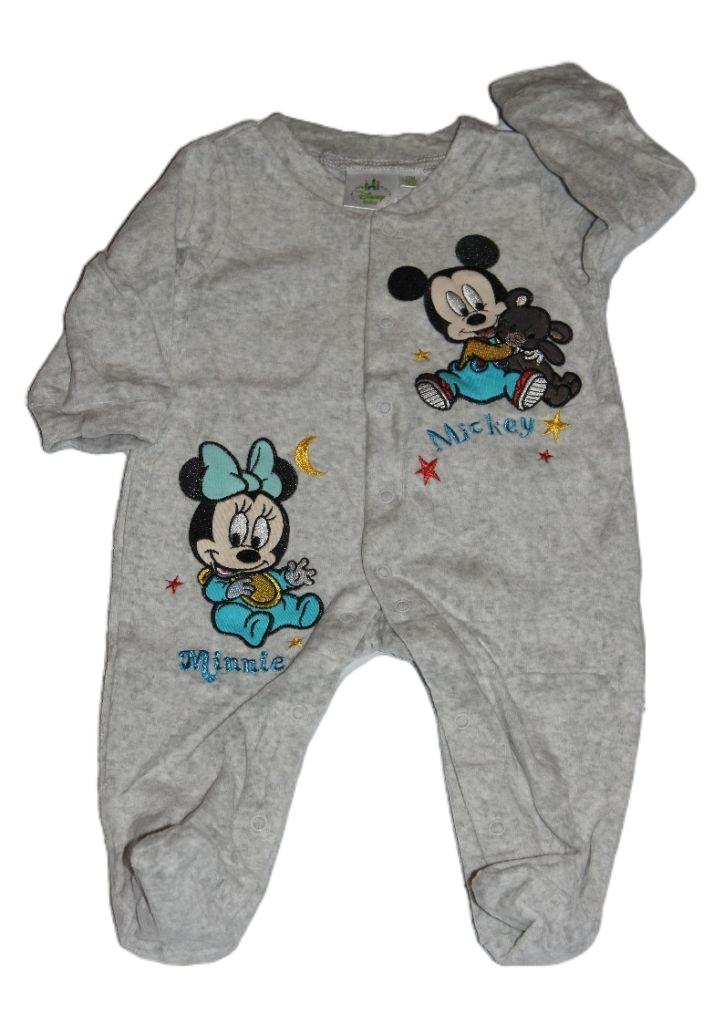 Mickey és Minnie egér mintás baba rugdalózó - baba rugdalózó