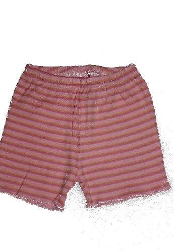 Baba csíkos rövidnadrág - baba nadrág