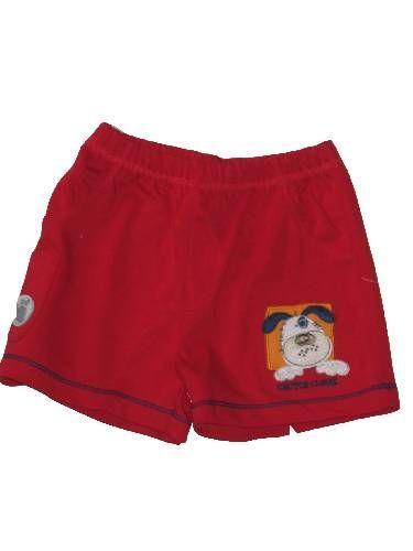 Kutyus mintás baba rövidnadrág - baba nadrág