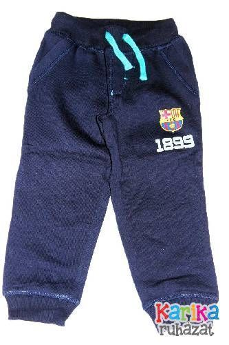 F.C. Barcelona mintás fiú nadrág - fiú nadrág
