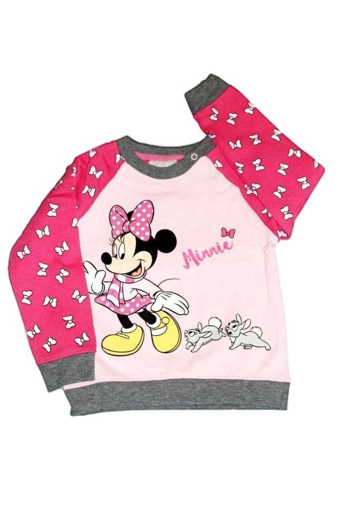 Minnie egér mintás baba pulóver - baba pulóver, mellény
