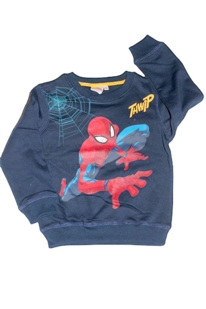 Pókember mintás fiú pulóver - fiú pulóver, mellény