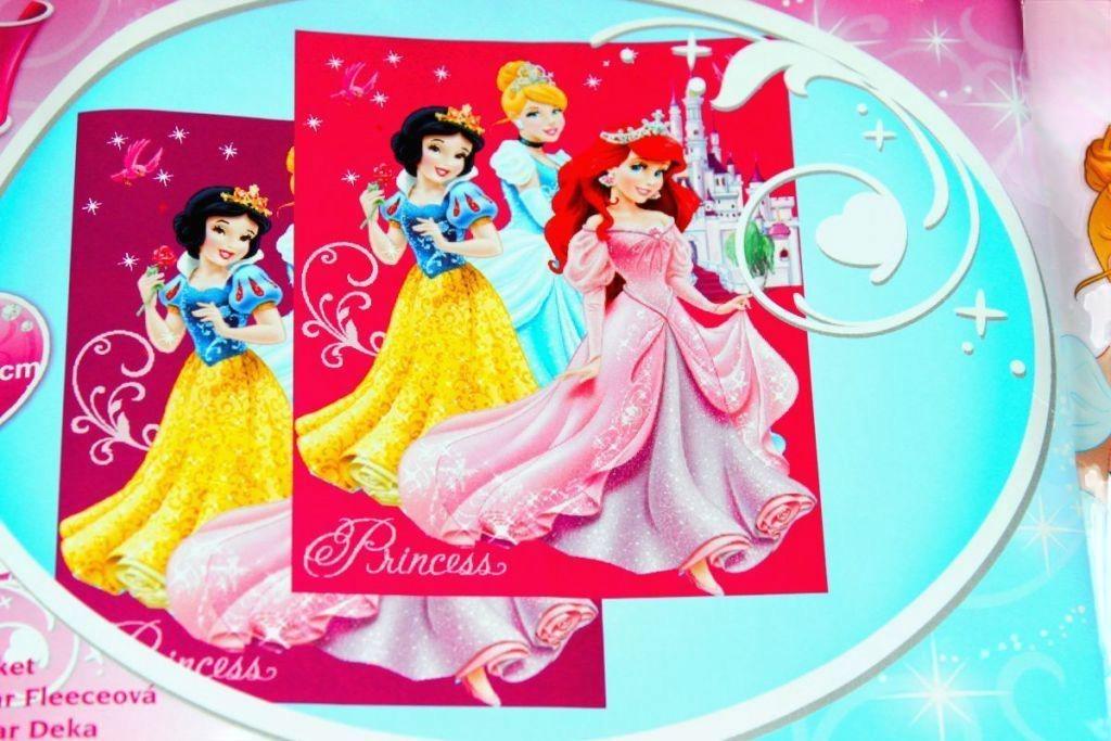 Hercegnő mintás takaró - Ágynemű, lepedő, takaró