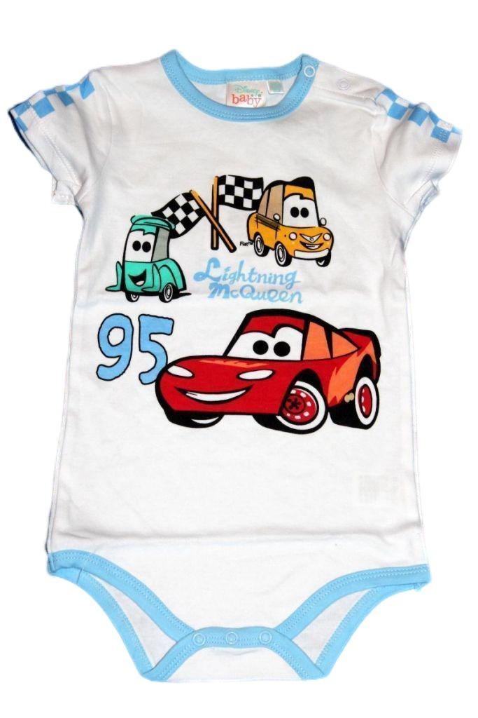 Verda mintás baba rövid ujjú kombidressz - baba felső, póló