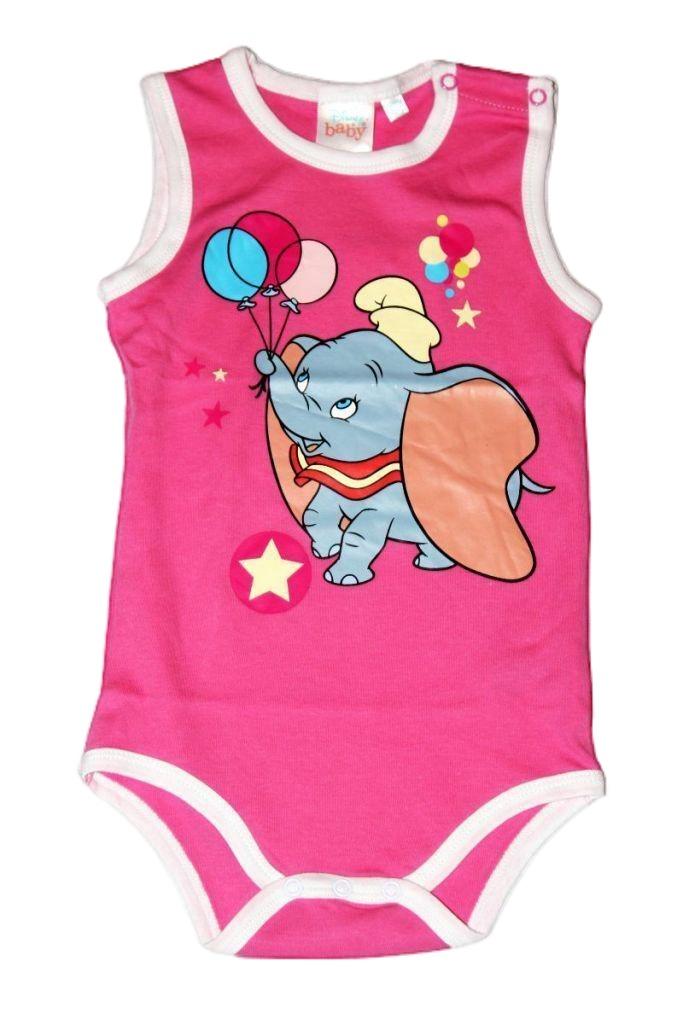 Dumbo mintás baba ujjatlan bady - baba felső, póló