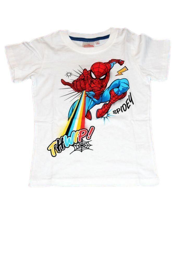 Spiderman mintás fiú póló - fiú felső, póló