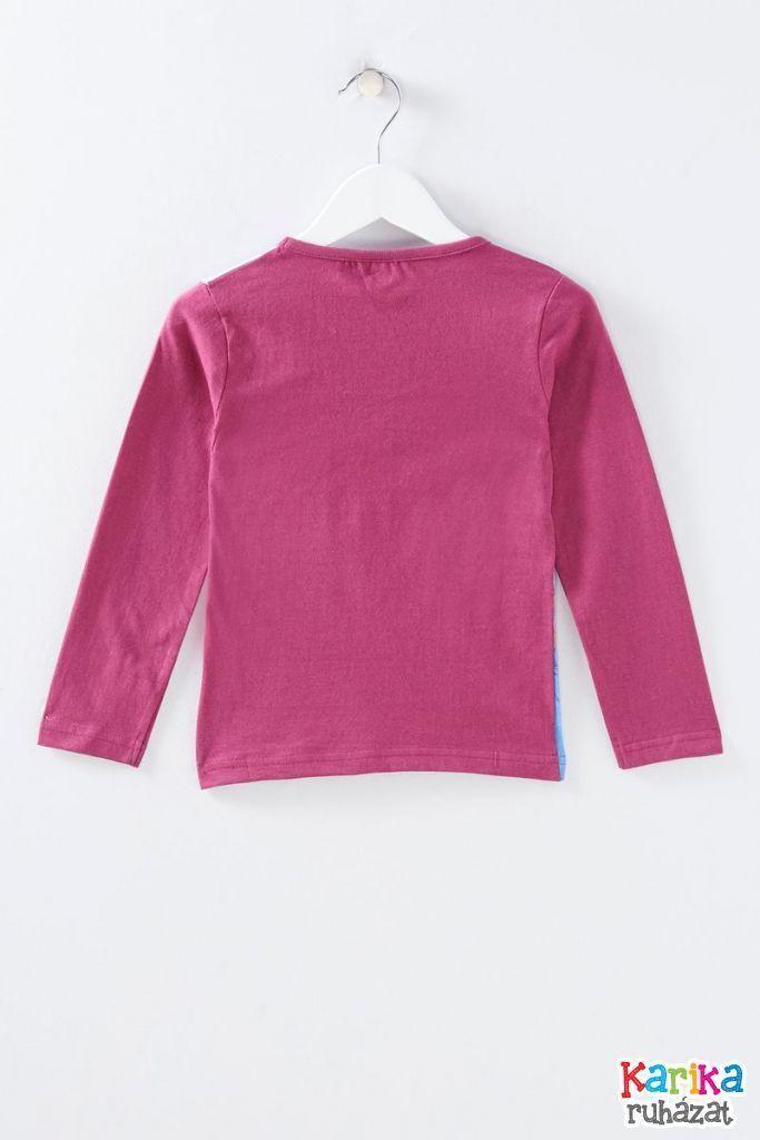 Jégvarázs mintás lány póló - lány felső, póló