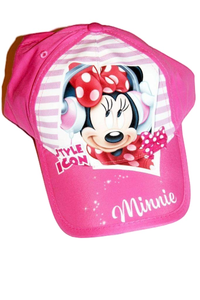 Minnie egér mintás lány baseball sapka - lány sapka, sál, kesztyű