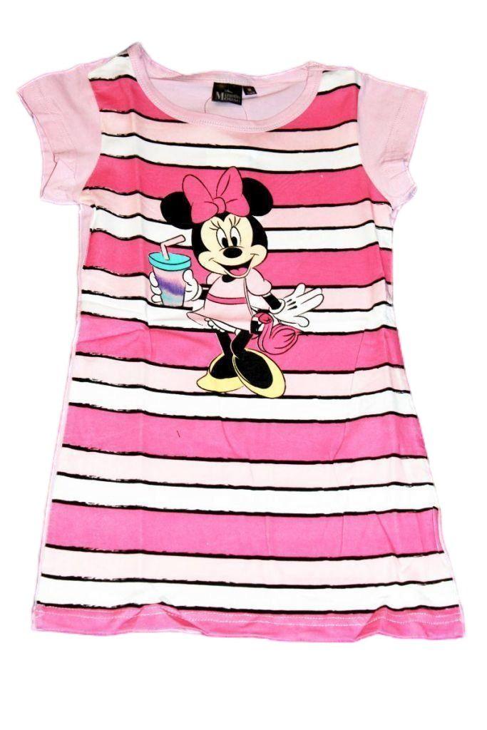 Minnie egér mintás lány ruha - lány ruha, lány felső, póló
