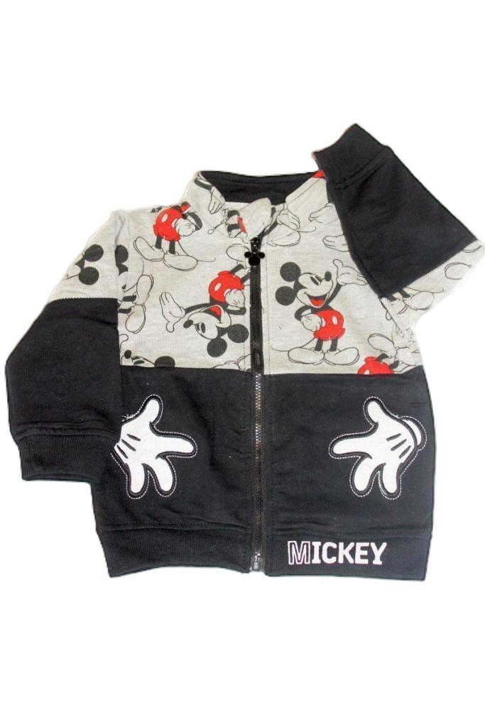 Mickey egér mintás baba pulóver - baba pulóver, mellény