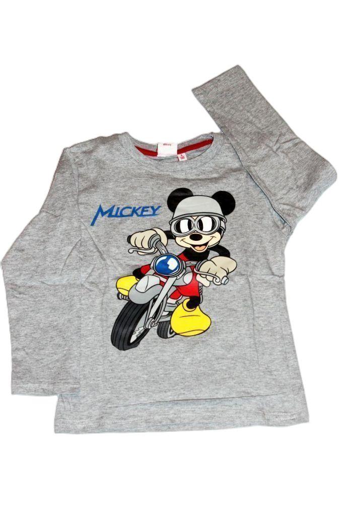 Mickey egeres fiú hosszú ujjú póló - fiú felső, póló
