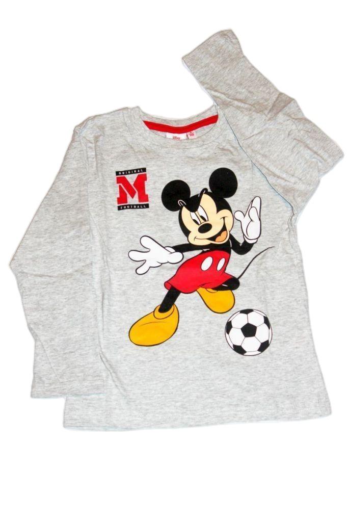 Mickey egér mintás fiú hosszú ujjú póló - fiú felső, póló