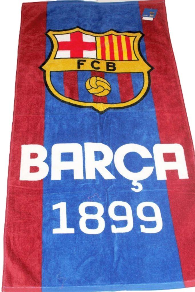 FC Barcelona mintás törölköző - törölköző