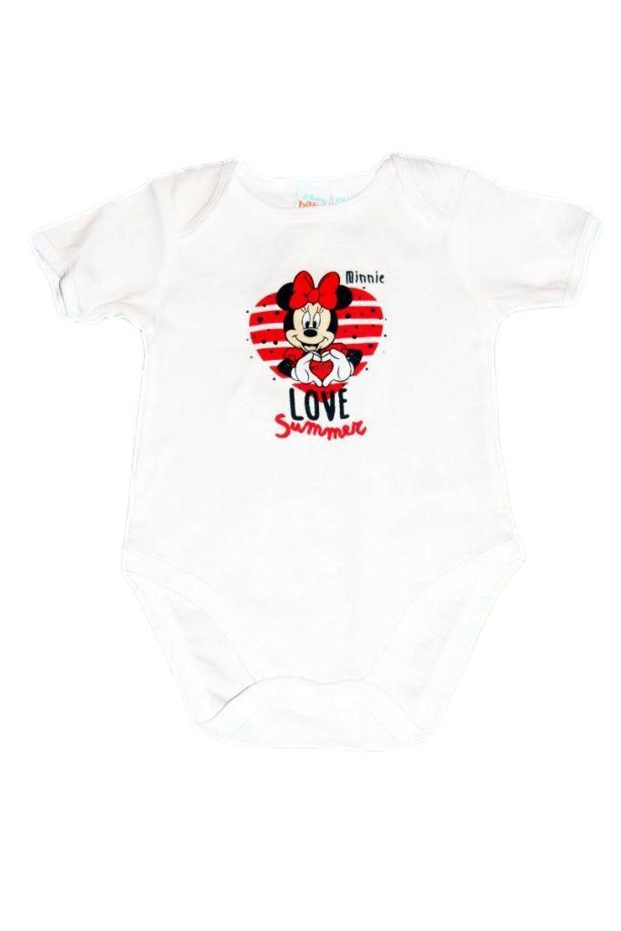 Minnie egér mintás baba bady 2db-os - baba felső, póló