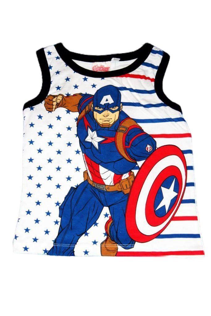 Amerika kapitányos trikó - fiú felső, póló