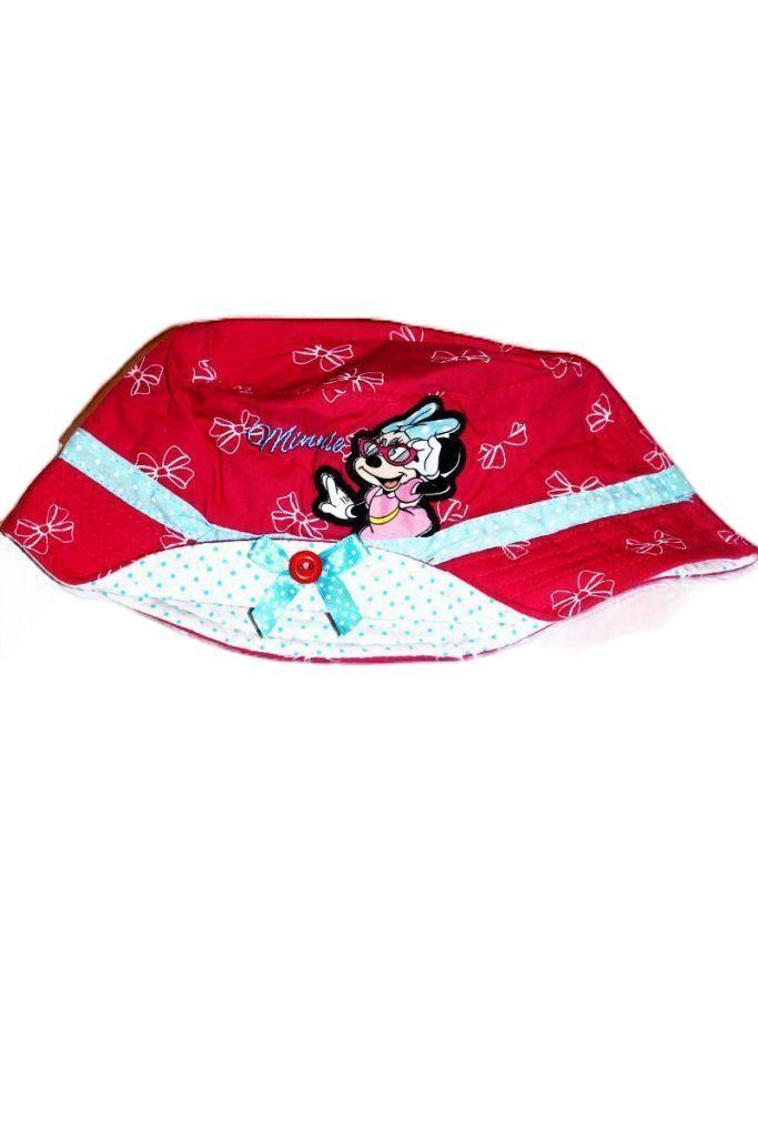 Minnie egér mintás lány halász kalap - lány sapka, sál, kesztyű