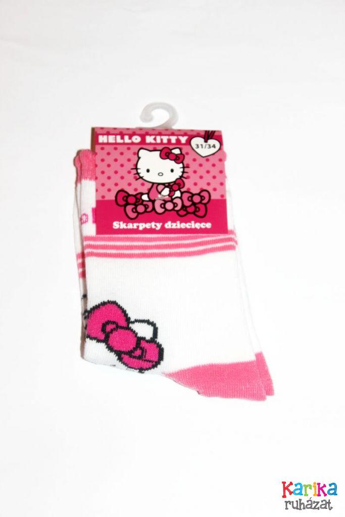 Helló Kitty mintás lány zokni - lány zokni, harisnya