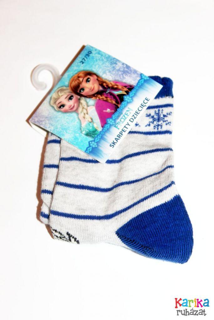 Jégvarázs mintás lány zokni - lány zokni, harisnya