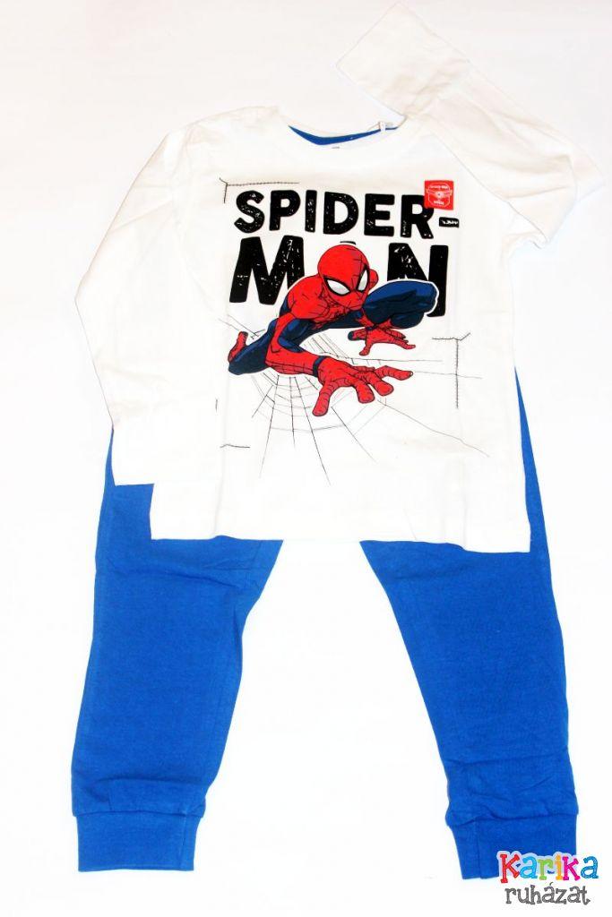Pókemeber mintás fiú pizsama - fiú pizsama