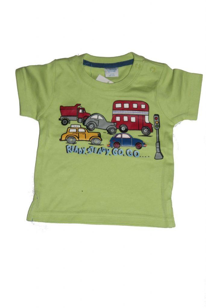 Autó mintás baba póló - baba felső, póló