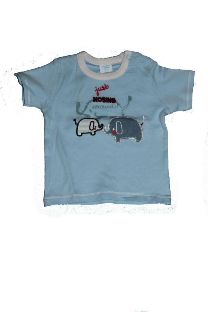 602785683f Elefánt mintás baba póló - KarikaRuhazat.hu