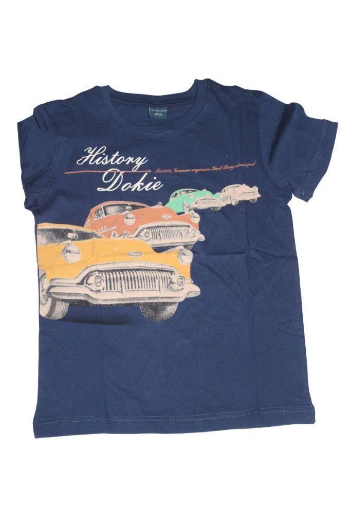 Autó mintás nagyfiú póló - fiú felső, póló
