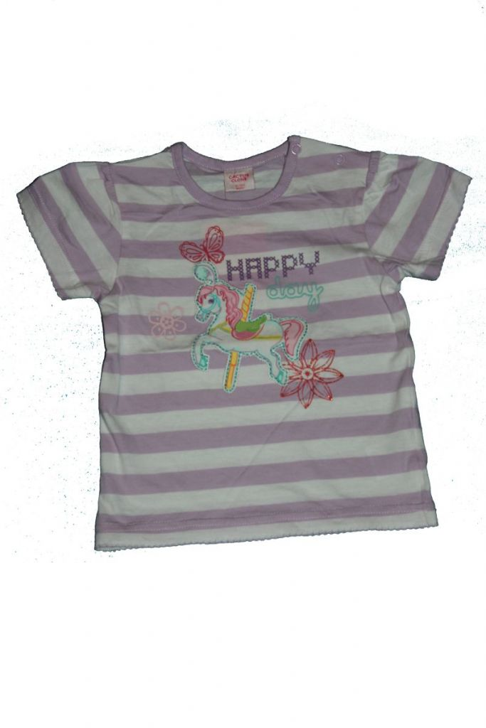 Lovacska mintás baba póló - baba felső, póló