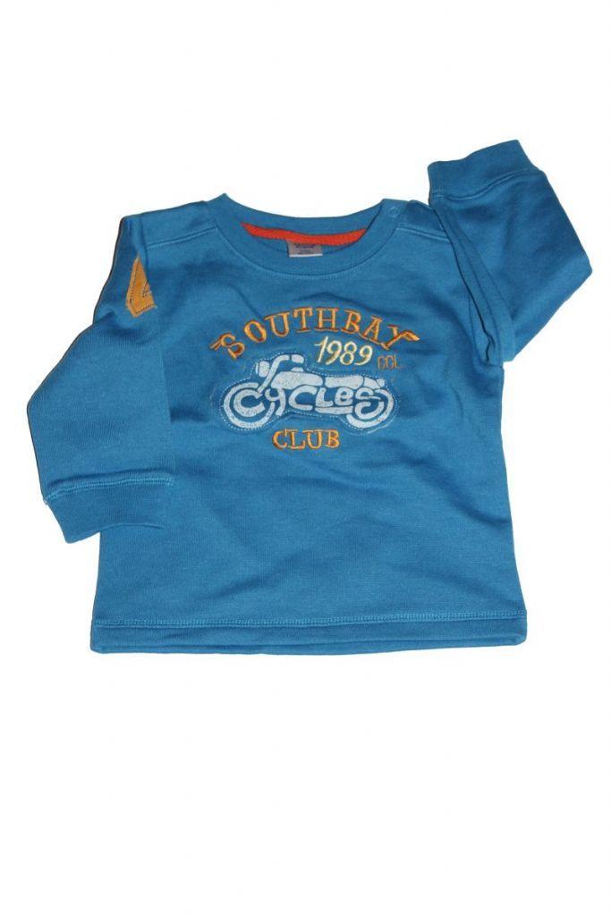 Motor mintás baba pulóver - baba pulóver, mellény