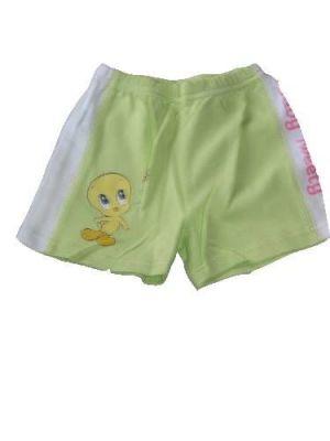 Csőrike mintás baba rövidnadrág - baba nadrág