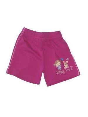 Nyuszi mintás baba rövidnadrág - baba nadrág