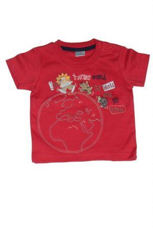 Oroszlán mintás baba póló - baba felső, póló