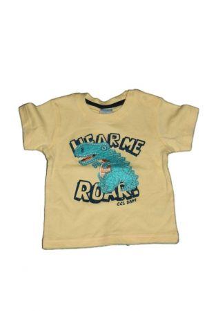 Dinoszaurusz mintás baba póló - baba felső, póló