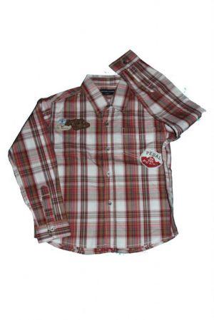 Kockás fiú ing - fiú ing
