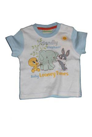 Looney Tunes mintás baba póló - baba felső, póló