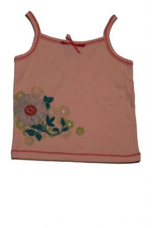 Virág mintás lány trikó - lány felső, póló