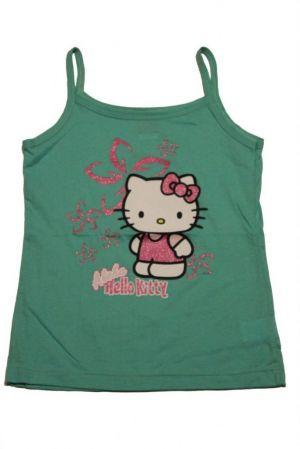 Helló Kitty mintás lány trikó - lány felső, póló